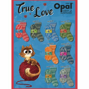 "800g Sparpaket Opal 4f. ""True Love"""