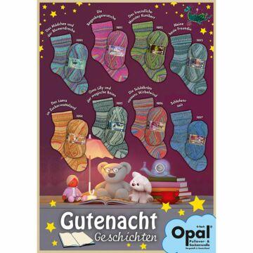 "800g Sparpaket Opal 4f. ""Gutenachtgeschichten"""