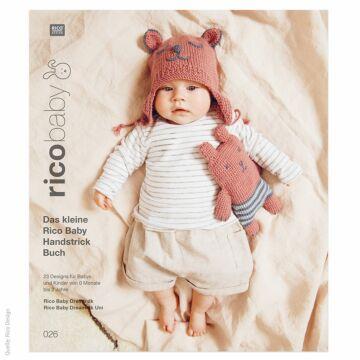 """Heft """"Das kleine Rico Baby Handstrick Buch No. 26"""""""
