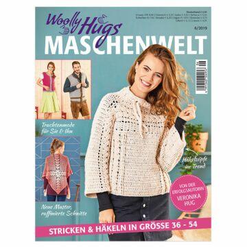 "Heft ""Woolly Hugs Maschenwelt 06/2019"""