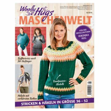 "Heft ""Woolly Hugs Maschenwelt 08/2019"""