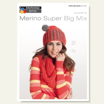 """Schachenmayr Design-Poster """"Merino Super Big Mix"""""""