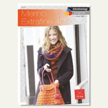 """Heft """"Merino Extrafine 40 / Nr. 005"""""""
