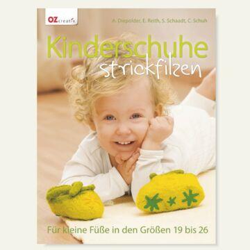 Buch- Kinderhausschuhe filzen