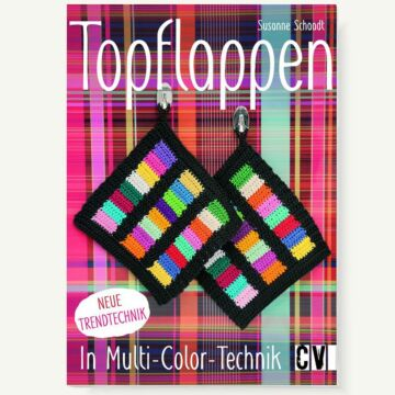 "Buch ""Topflappen in Multi-Color-Technik"""