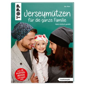 """Buch """"Jerseymützen für die ganze Familie"""""""