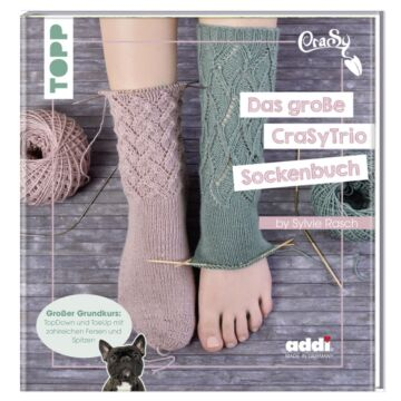 "Buch ""Das große CrasyTrio-Sockenbuch"""