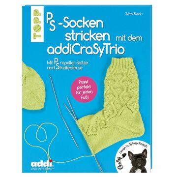 """Buch """"PS-Socken stricken mit dem addiCraSyTrio"""""""