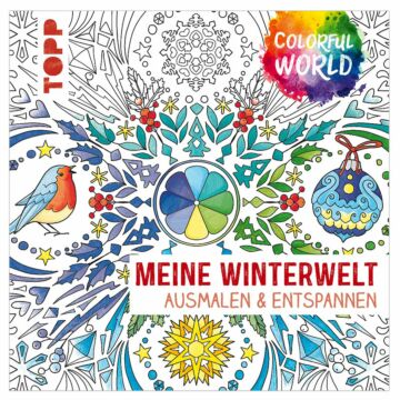 "Buch ""Colorful World - Meine Winterwelt"""