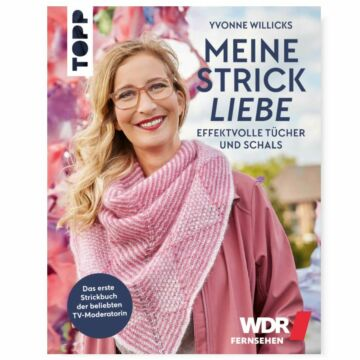 """Buch """"Meine Strickliebe - Effektvolle Tücher und Schals"""""""