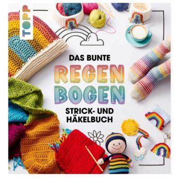 """Buch """"Das bunte Regenbogen Strick- und Häkelbuch"""""""