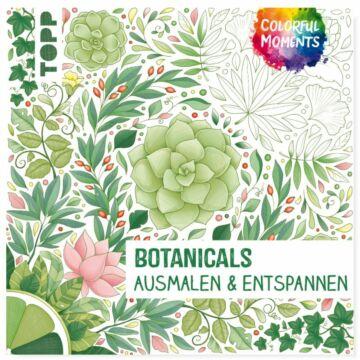"""Buch """"Colorful Moments - Botanicals Ausmalen & Entspannen"""""""