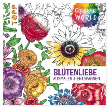 """Buch """"Colorful World - Blütenliebe"""""""