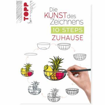 """Buch """"Die Kunst des Zeichnens - 10 Steps Zuhause"""""""