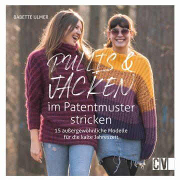 """Buch """"Pullis & Jacken im Patentmuster stricken"""""""