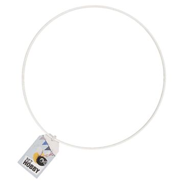Metallring für Mobile (weiß)