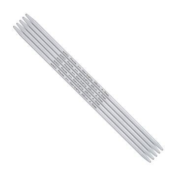 Strumpfstricknadeln Aluminium - 10 cm -