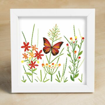 "Bild ""Roter Schmetterling"""