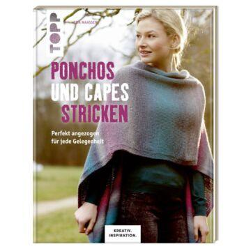 """Buch """"Ponchos & Capes stricken"""""""