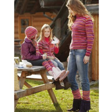 "Damenpullover & Beinstulpfen ""Bravo Jacquard Color"" 751090"