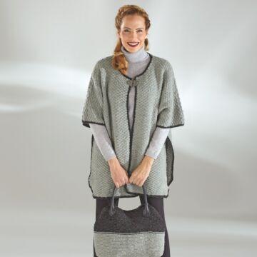 "Damencape ""Tweed"" 755029"