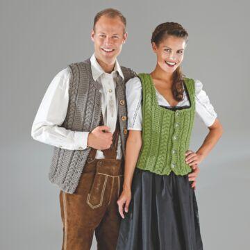 """Herrentrachtenweste """"Riga"""" 755071"""