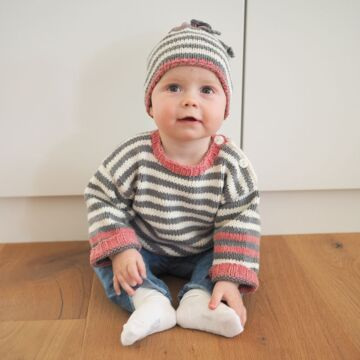 """Babypullover und Mütze """"Melazzo"""" 755293"""
