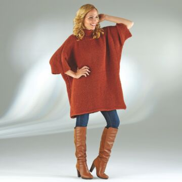 "Damenponcho-Pullover ""Ideal"" 756112"