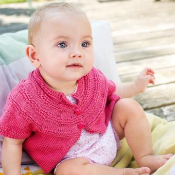 "Babyjacke ""Baby Smiles Cotton"" 756283"
