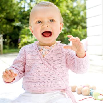 "Babyjacke ""Baby Smiles Cotton"" 756284"