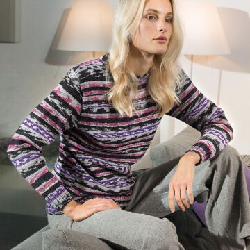 "Damenpullover ""Merino Extrafine Color 120"" 757079"