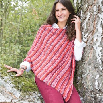 "Damenponcho ""Happy Color"" 757121"
