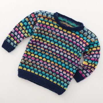"Kinderpullover ""Feinstrumpf Color"" 757177"