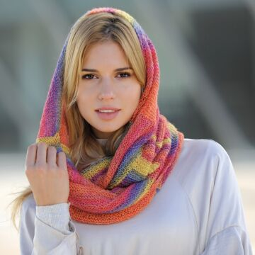 "Damenloop ""Starwool Lace Color Linie 97"" 758058"