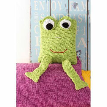 Kissen Frosch Frottee