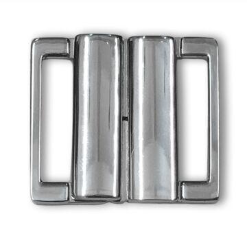 Metallschließe