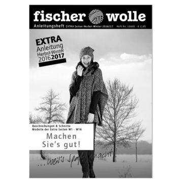 """Anleitungsheft """"Herbst/Winter 2016/2017"""""""