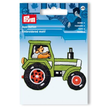 """Applikation zum Aufbügeln """"Traktor"""""""