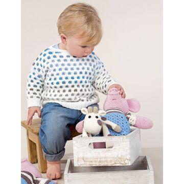 "Babypullover ""Bio Cotton"" AU8035"