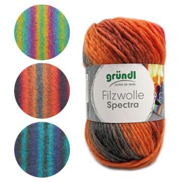 Filzwolle Spectra