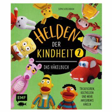 """Buch """"Helden der Kindheit - Das Häkelbuch - Band 2"""""""