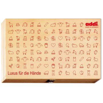 Holzbox für Rundstricknadeln