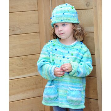 "Kinderpullover und Mütze""Timona Design Color"" ON7021"