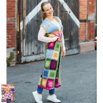 "Damenlongweste ""Year Socks"" LK4081"