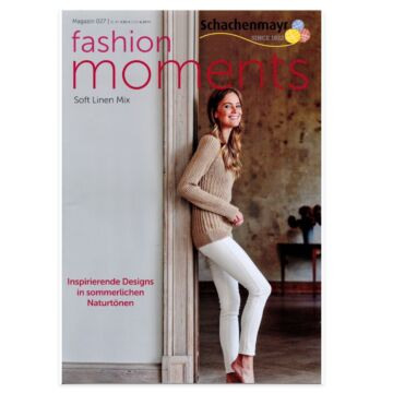 "Magazin ""Fashion Moments 027 Soft Linen Mix"""