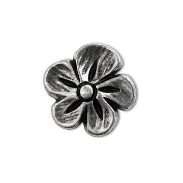 "Metallknopf ""Blume"""
