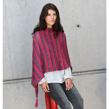 """Damenponcho """"Starwool Lace Color Linie 97"""" ON7078"""