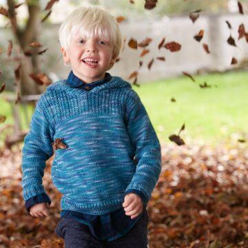 "Kinderpullover ""Merino Extrafine 120 Color"" SMS9051"