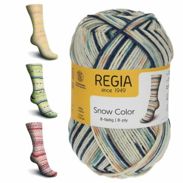 """Regia 8f. """"Snow Color"""""""