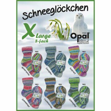 """900g Sparpaket Opal 8f. """"Schneeglöckchen"""""""